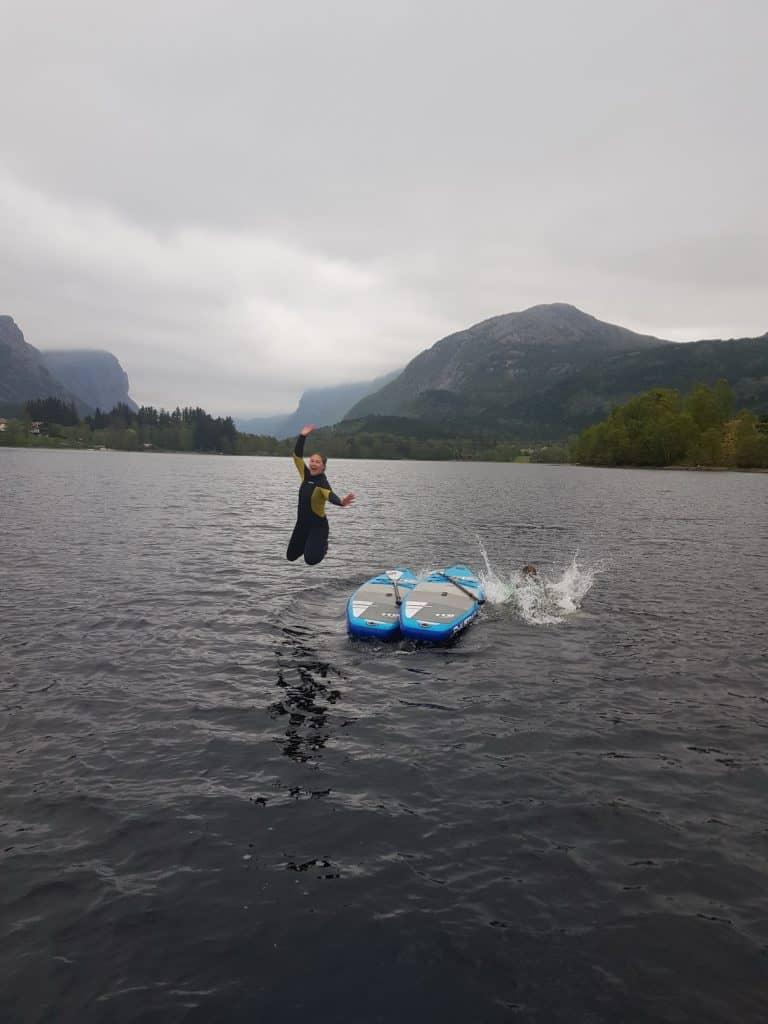 SUP in Norwegen mit JAS-TOURS.DE