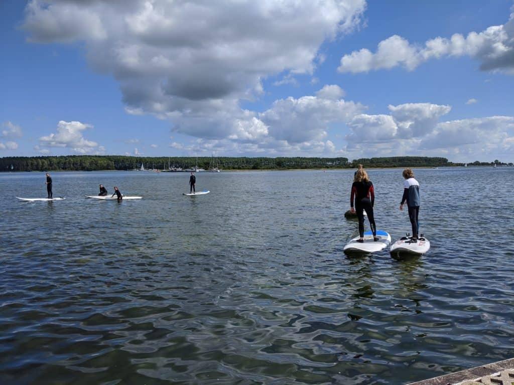 Stand up paddel im Urlaub