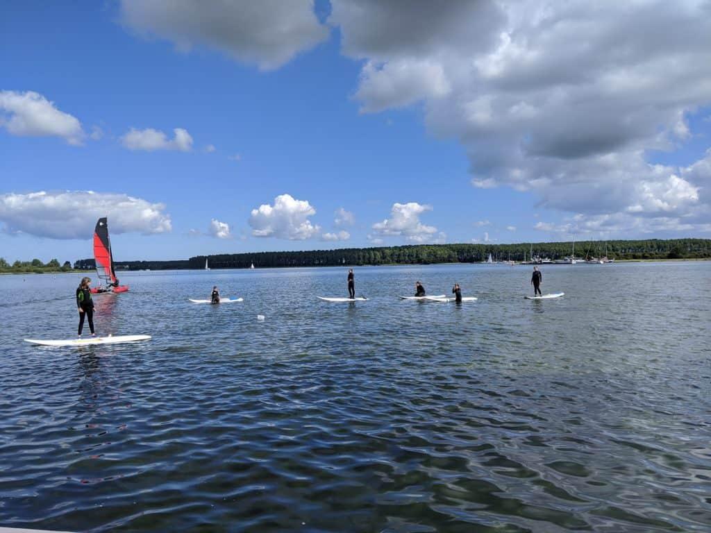 Windsurfkurs Kinder Holland