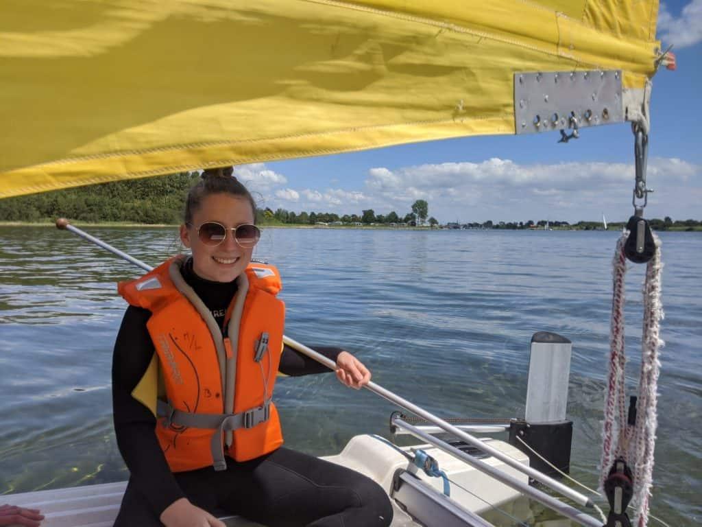 Katamaran segeln Holland