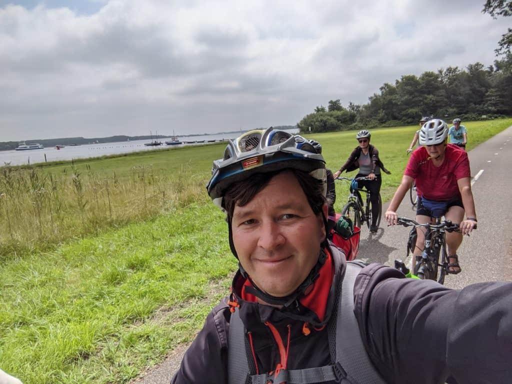 Familienurlaub Niederlande Radtour