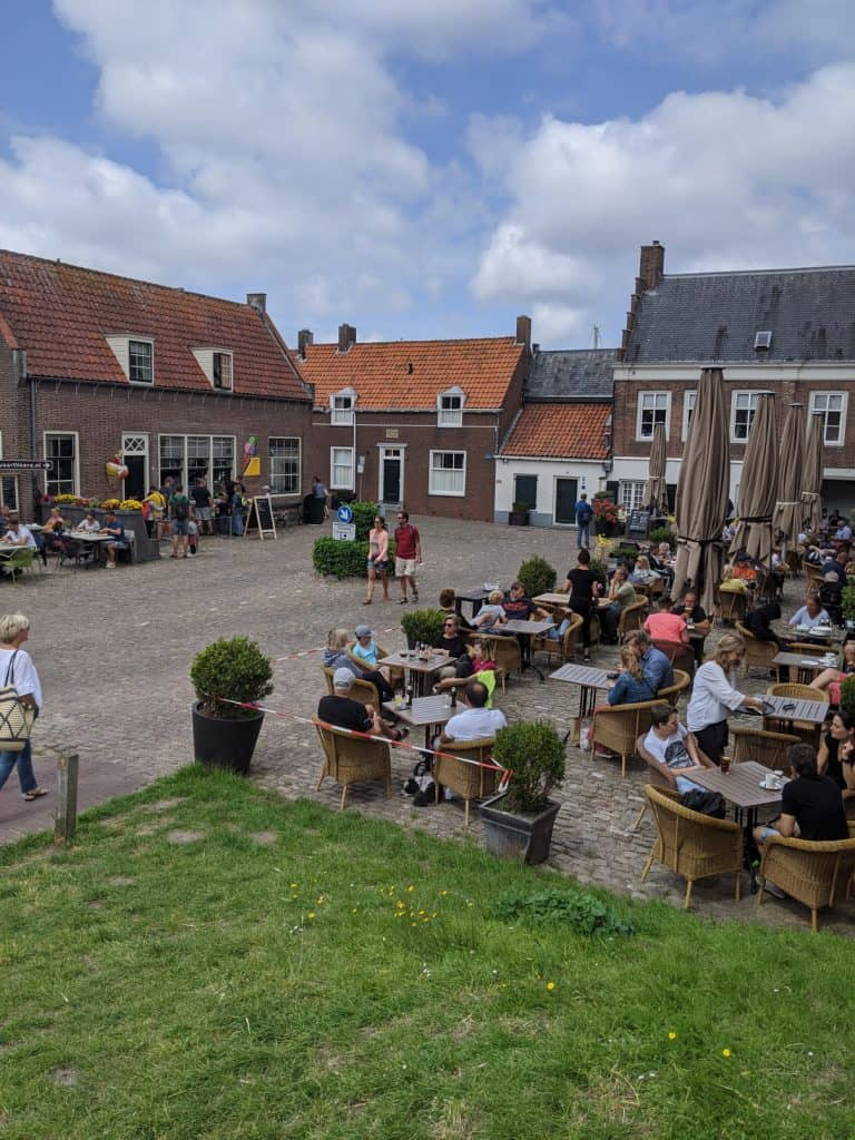 Familienurlaub Niederlande Verre Radtour