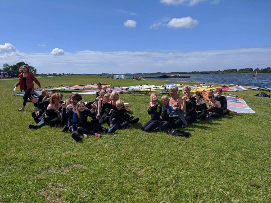 Familien Windsurfcamp Holland
