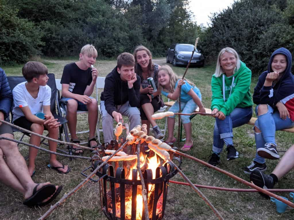 Familienurlaub Holland Stockbrot