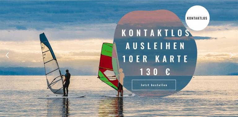 Surfstation Bodensee Windsurfen