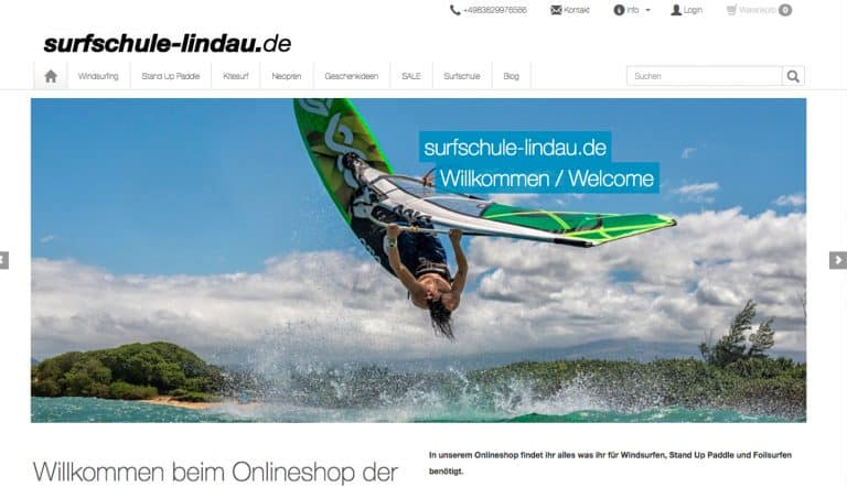 Surfshop Bodensee Windsurfen