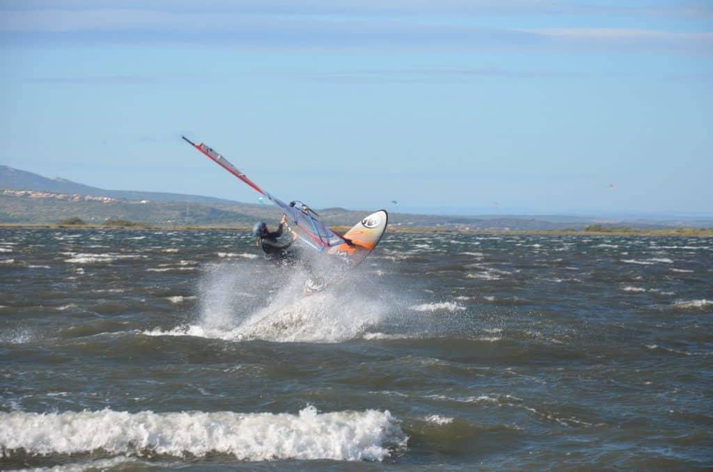 Windsurfer Jump Leucate
