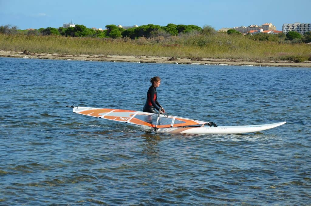 Anfängerkurs Windsurfen in Leucate