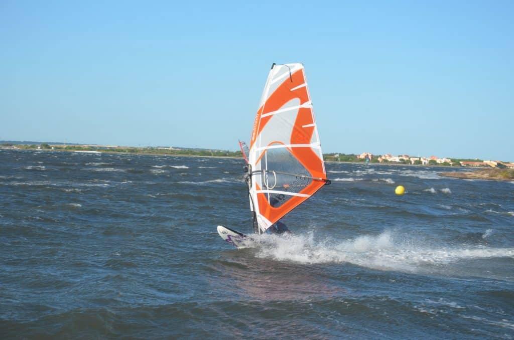 Etang de Leucate Windsurfer